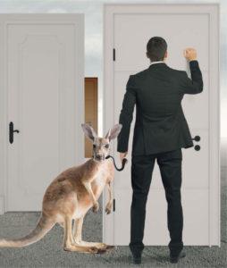 Door knocking works like a charm for Australian Realtors